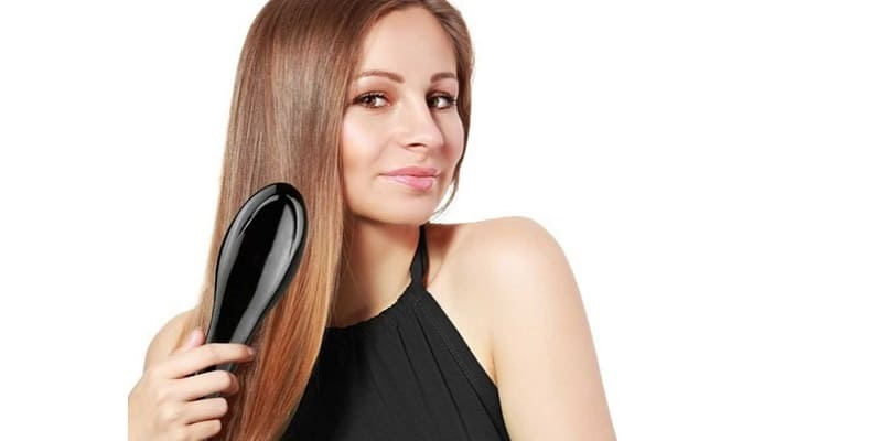 Use Hair Straightening Brush